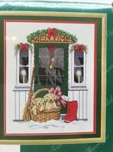Welcome Puppies Christmas cross stitch kit janlynn Dog 15-215 Holiday Soldier U2 - $11.87
