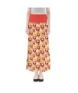 Women's Cute Giraffe Printed Summer Stretchy Full Length Maxi Skirt Size... - $28.99+
