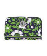 NWT VERA BRADLEY TURNLOCK WALLET OR CLUTCH IN LUCKY YOU - $44.77