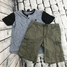 Boys Sz 8 Summer Outfit Old Navy Shorts Zoo York Shirt - $13.85