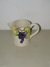 Vintage Fitz & Floyd Grapevine Grapes Ironstone Pitcher 17288 - $13.99