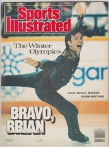 1988 Sports Illustrated Calgary Winter Olympics Team USA Hockey Brian Bo... - $2.50