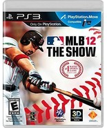 MLB 12 The Show - PlayStation 3 VG Artwork, Jewel Case and Disc Perfect - $5.89