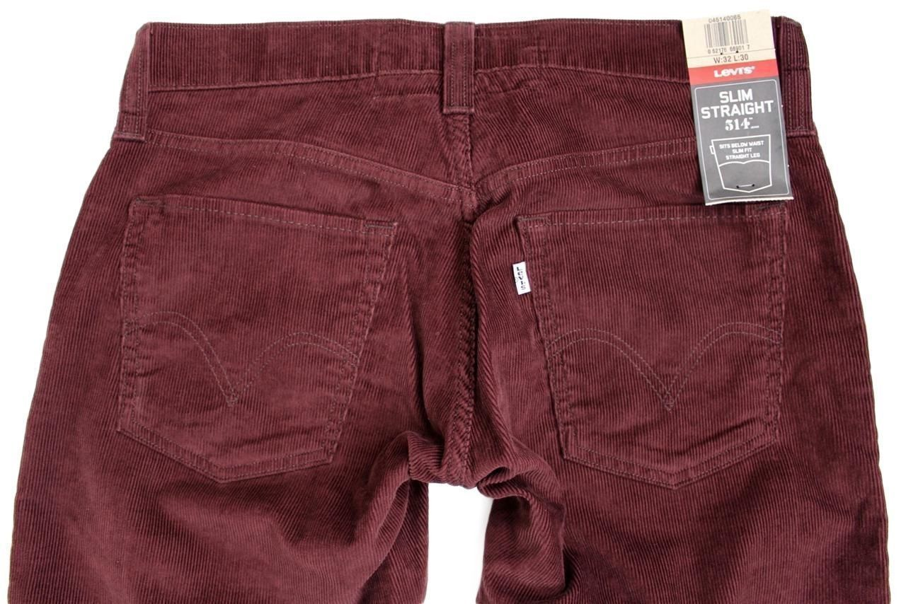 NEW NWT LEVI'S STRAUSS 514 MEN'S ORIGINAL SLIM FIT STRAIGHT LEG JEANS 514-0065