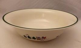 "Pfaltzgraff Snow Village pattern - Vegetable Serving bowl - 8 3/4"" - EUC - 2006 - $20.79"
