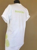 Pandora Jewelry T-SHIRT Limited Edition White Summer Campaign Pineapple Shirt - $17.82