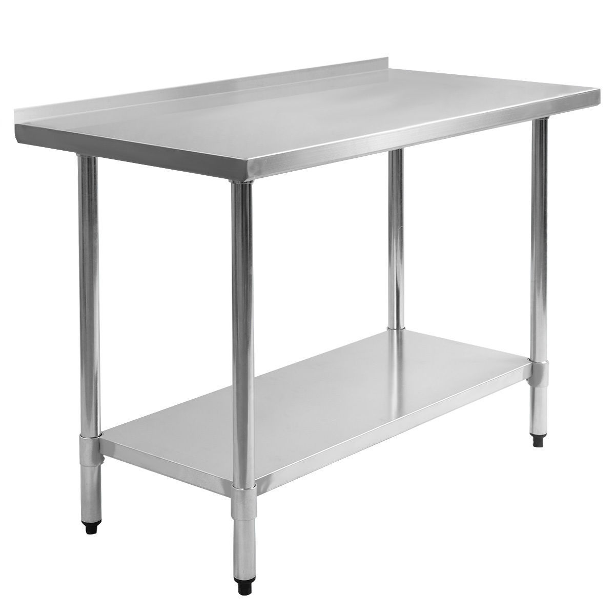 stainless steel work table for sale only 2 left at 60. Black Bedroom Furniture Sets. Home Design Ideas