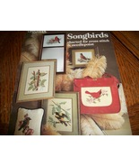 Songbirds Cross Stitch Leaflet 171 - $8.00