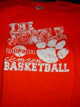 2010-2011 Clemson Basketball  The Jungle Size XL T Shirt Gildan - $14.00