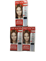 3 Revlon Permanent Root Erase 5R Medium Auburn Reddish Brown Up To 3 Uses - $26.11