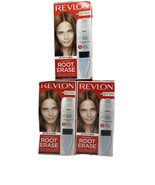 3 Revlon Permanent Root Erase 5R Medium Auburn Reddish Brown Up To 3 Uses - $23.50