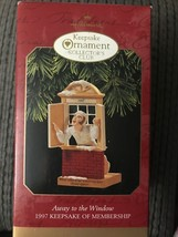 Hallmark Keepsake Away to the Window Christmas Ornament Collectors Club ... - $5.95