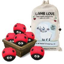Wool Dryer Balls Organic New Zealand- 6 Pk 100% Sheep's Eco-Friendly SAV... - $23.71