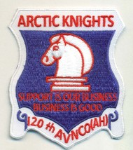Us Army 120TH Avn Co Arctic Knights Patch - $11.87