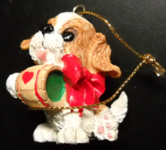 Carlton Cards Heirloom Christmas Ornament 1994 St Bernard Original Box - $12.99