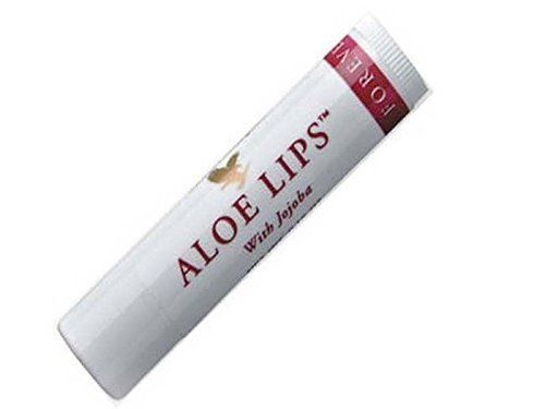 Forever Living Products Aloe Lips, Chapstick, Lip Balm, Very Healing. (Pack of 6
