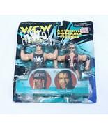 VINTAGE SEALED 1998 Hulk Hogan Scott Hall WCW NWO Action Figure Set - $19.79