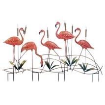 Garden Decoration, Pink Flamingo Decorative Home Outdoor Garden Decor, Iron - $90.59
