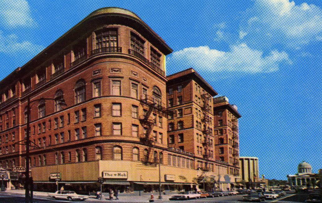 Primary image for Vintage Postcard 1970's Monticello Hotel Norfolk Virginia Old Cars Unposted