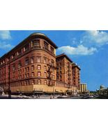 Vintage Postcard 1970's Monticello Hotel Norfolk Virginia Old Cars Unposted - $4.99