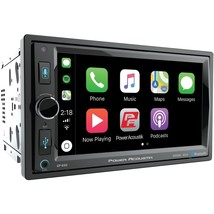 "Power Acoustik 6.5"" In-dash Double-din Digital Media Receiver With Blue - $260.96"