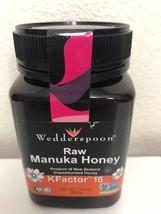 Wedderspoon - 100% Raw Manuka Honey Unpasteurized KFactor 16 - 17.6 oz - $24.00