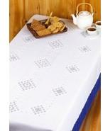 Hardanger Tablecloth kit Permin Copenhagen - $202.50
