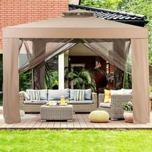 Canopy Gazebo Tent Shelter Outdoor Backyard Garden Lawn Patio Mosquito N... - $262.00