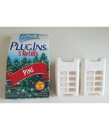 New Glade Fresh Gel Scented Plug Ins Pine Scent 3 Refills + 2 Holders Pa... - $19.80
