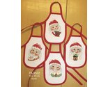 Santa wine aprons thumb155 crop