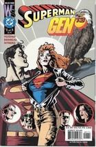 Superman/Gen 13 Comic Book #1 DC Comics 2000 NEAR MINT UNREAD - $3.25