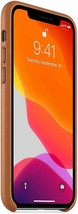 Apple Leather Case for iPhone 11 Pro - Saddle Brown - $39.99