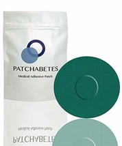 Adhesive Patches - 20 Count - CGM Adhesive, Waterproof Green