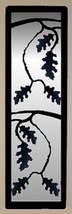 Oak Leaves Accent Mirror - Rustic Metal Wildlife Lodge Cabin Wall Decor  - £69.66 GBP