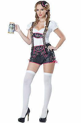 California Costumes Civettuola Lederhosen Tedesco Oktoberfest Halloween 01509