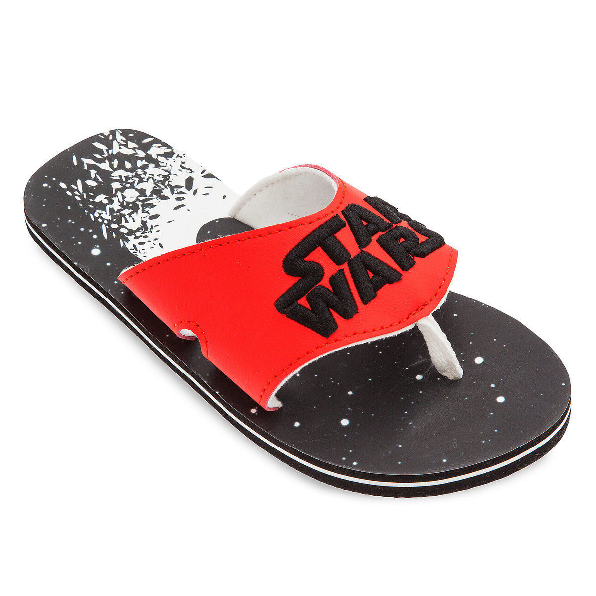STAR WARS Flip Flops w/Optional Sunglasses Beach Sandals Boys Sz. 11/12 13/1 2/3