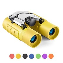 Binoculars for Kids Best Gifts for 3-12 Years Boys Girls 8x21 High-Resolution Re