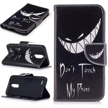 XYX Wallet Phone Case for LG K20 Plus Case,LG LV5,[Bad Laugh][Kickstand]... - $9.88