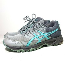 Asics Gel Sonoma 3 T774N Women's Size 8 Mid Grey Teal Running Athletics Shoes - $24.74