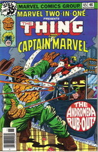 Marvel Two-In-One Comic Book #45 The Thing and Captain Marvel, 1978 FINE+ - $3.25