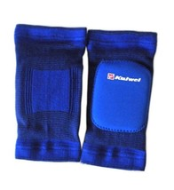 Skating Cycling Roller Protective Brace Elbow Knee Support Pads Blue - $13.43
