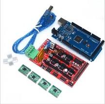 Mega 2560 R3 + 1pcs RAMPS 1.4 Controller + 4pcs A4988 Stepper Driver Mod... - $21.15