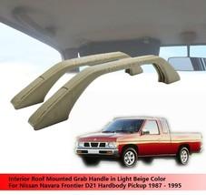 Roof Mounted Grab Handle Beige Color For Nissan Navara Frontier D21 1987 - 1995 - $20.26