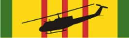 "Vietnam – UH-1H (Black) Decal 6"" Wide x 1.77"" High - $11.87"