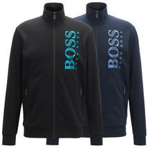 Hugo Boss Green Men's Sweater Zip Up Sweatshirt Track Jacket 50414671