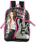 Victorious Rock On Backpack Guitar Shape Black Pink Music Notes Victory ... - $18.00
