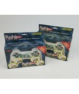 Playpak Plus for the Sony Playstation clear controller and 2 playsticks ... - $28.71