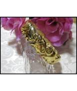 Goldtone Elephant Clamper Bracelet - $6.00