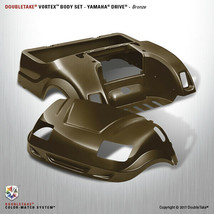 Doubletake Yamaha Drive Vortex Golf Cart Bronze Body Cowl Set  Include L... - $700.69