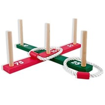 E Bargains UK Garden/Outdoor Rope Quoits (1|AROS DE CUERDA, VARILLAS DE ... - $17.24